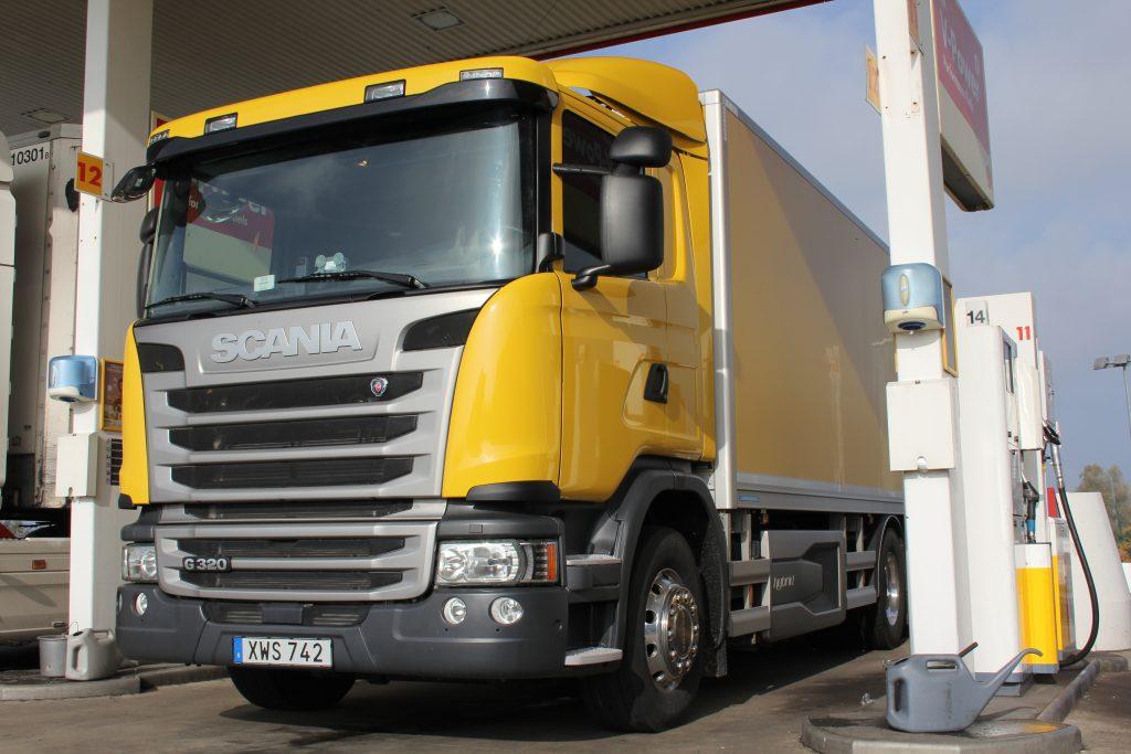 thumbnail for Prise en mains Scania G320 Hybrid