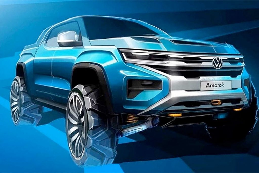 thumbnail for Le nouvel Amarok sera construit en collaboration avec le Ford Ranger
