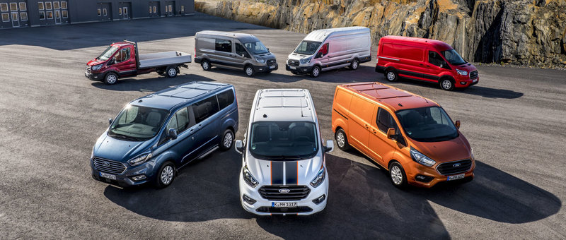 thumbnail for LCV-markt : Ford op kop