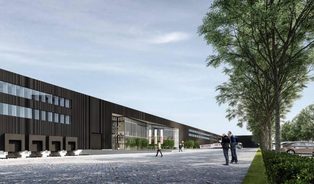 thumbnail for Début des travaux du Ghent Logistic Campus de Heylen Warehouses