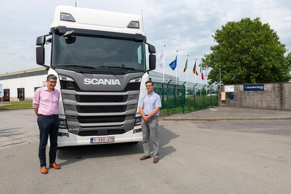 thumbnail for Un premier Scania LNG pour Euroterminal