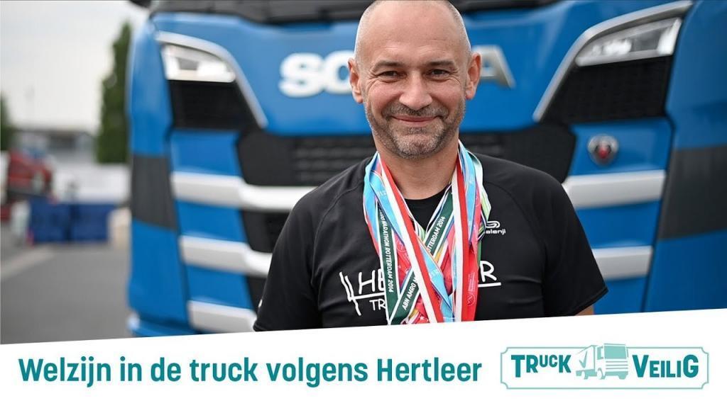 """thumbnail for [VIDEO] De sportiefste transporteur van België: """"Fitter achter het stuur"""""""