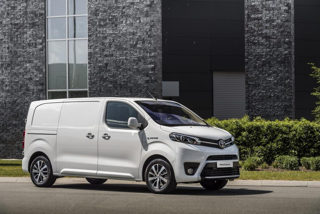 thumbnail for De Toyota Proace Electric pas in 2021 in België