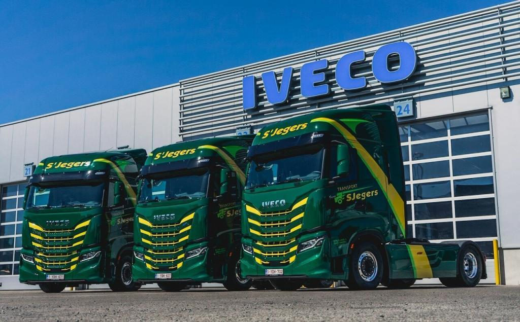 thumbnail for Transport S'Jegers kiest voor Iveco S-Way en LNG