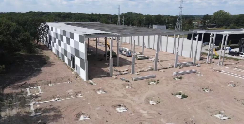 thumbnail for Van Oirschot se construit un nouvel entrepôt à Herentals