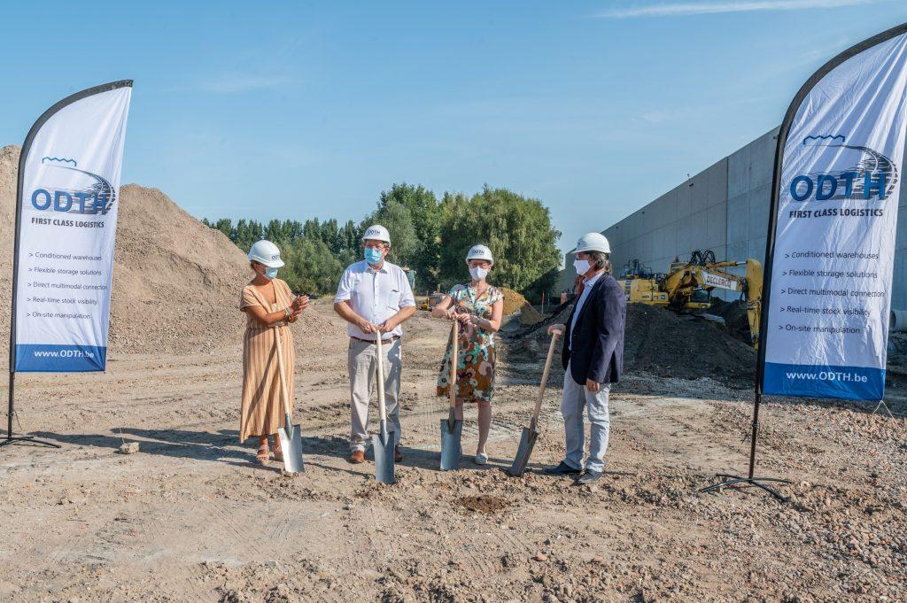 thumbnail for ODTH pose la première pierre d'un nouveau hub pharma à Willebroek