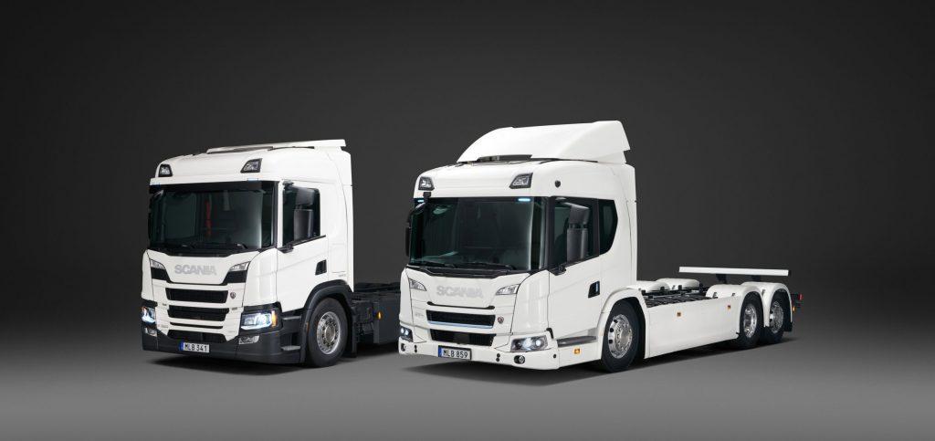 thumbnail for Scania lance une gamme de camions électriques et hybrides