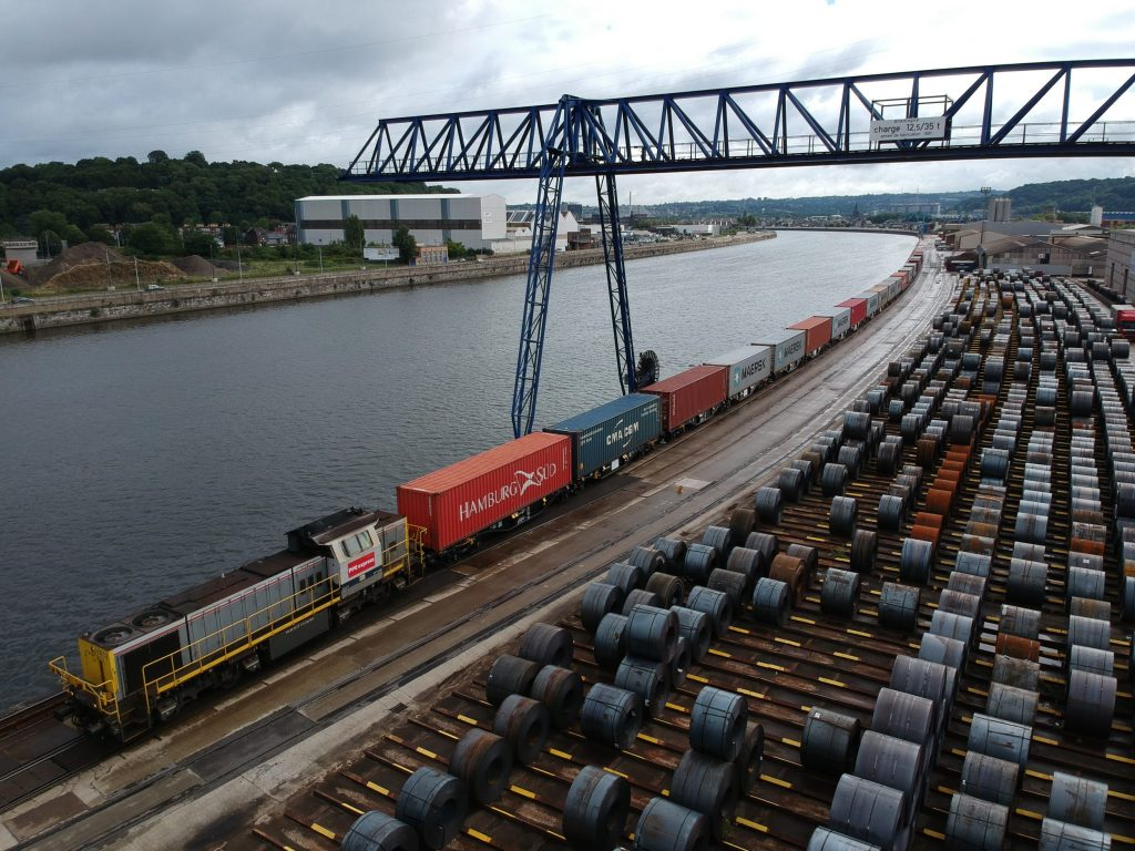 thumbnail for Dagelijkse spoorverbinding tussen Luik en China