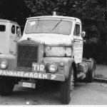 C'est en reprenant quelques camions à l'entreprise de son pire que Freddy Van Gaever a lancé Freddytrans, notamment avec ce tracteur Scammel.