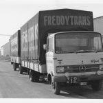 Si le Mercedes LP 608 a été largement diffusé en Belgique, il était beaucoup plus rare d'en rencontrer un avec une remorque.