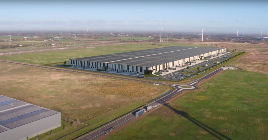 thumbnail for WDP bouwt 150.000 m² groot multimodaal distributiecentrum in North Sea Port