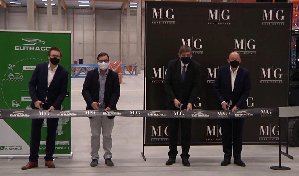 thumbnail for Eerste CO2-neutrale logistieke gebouw van België geopend in Willebroek