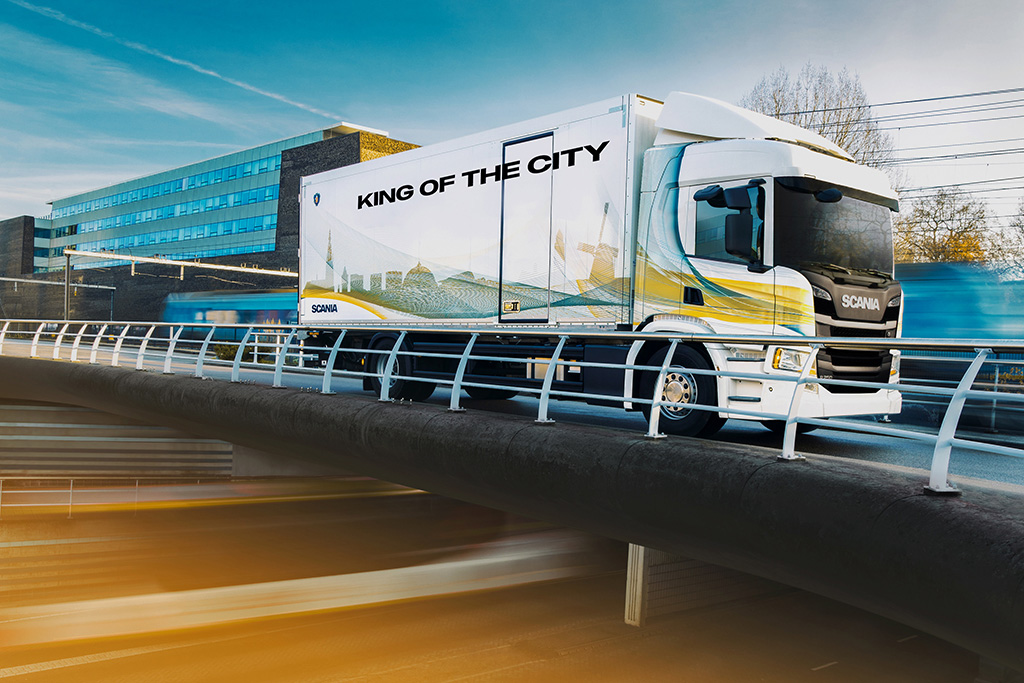 thumbnail for [ADVERTORIAL] Les camions de distribution Scania : King of the City