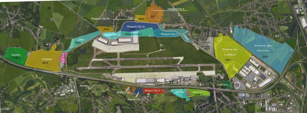 thumbnail for De nouvelles zones logistiques autour de Liege Airport en 2023