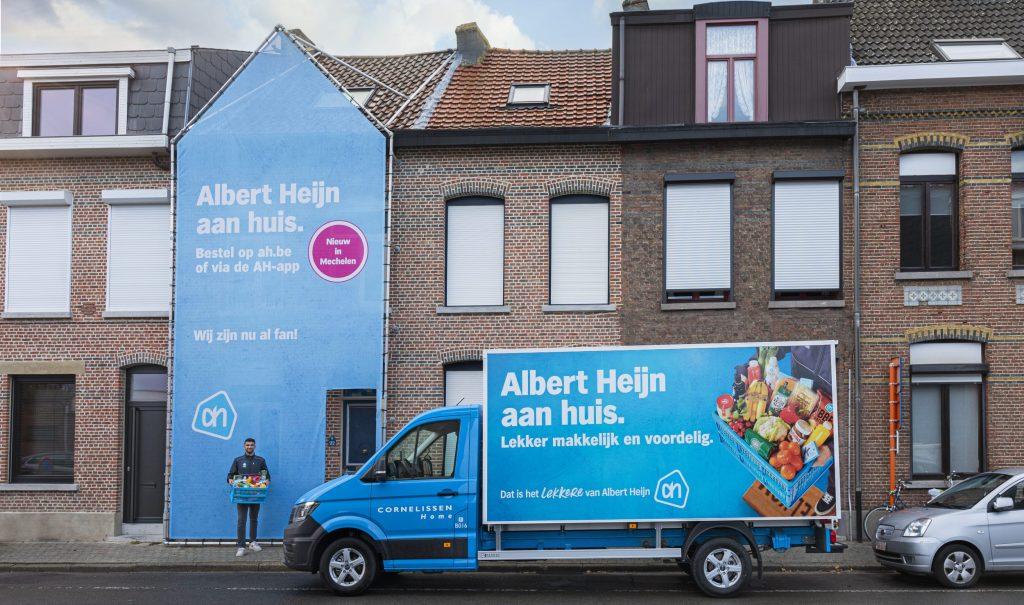 thumbnail for Cornelissen breidt thuislevering voor Albert Heijn in België uit