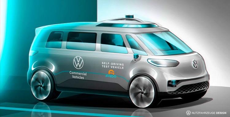 thumbnail for Volkswagen Commercial Vehicles in de running voor autonoom rijden