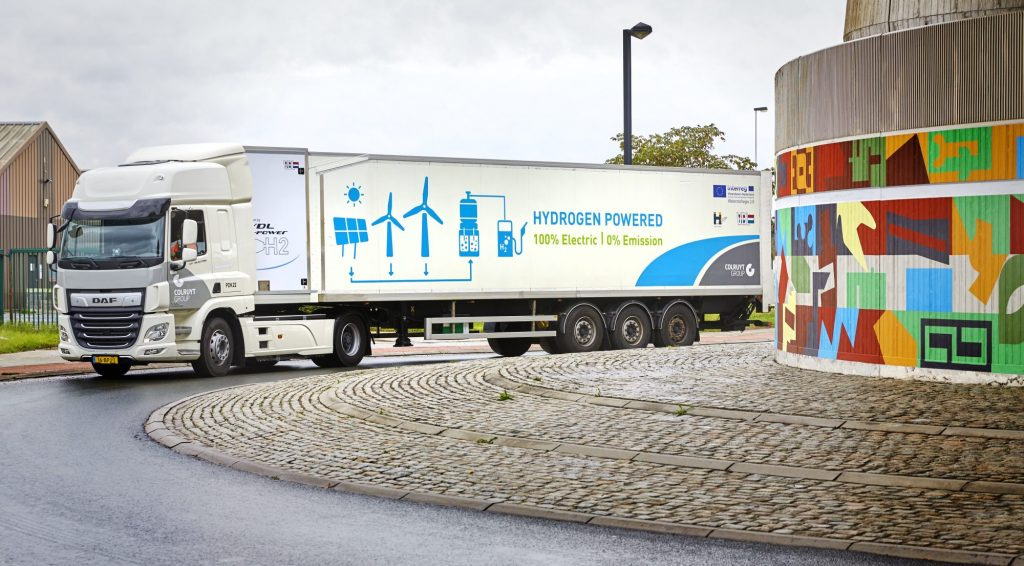 thumbnail for Doelstelling: 300 waterstoftrucks in België tegen 2025