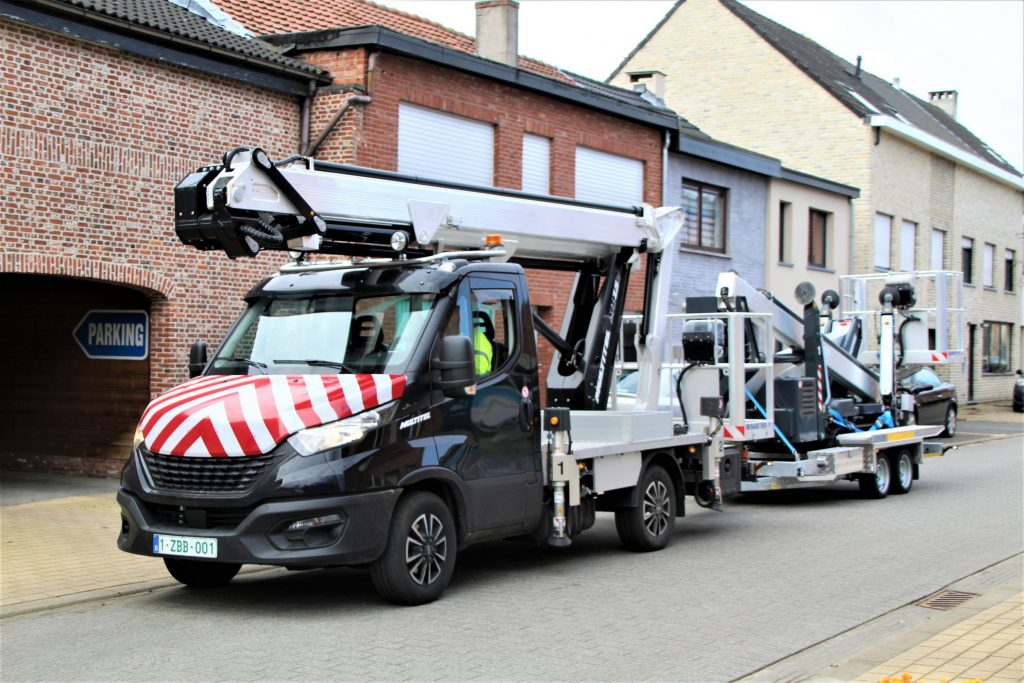 thumbnail for Rent and Sale@Groep Maes koopt Iveco Daily hoogwerkers