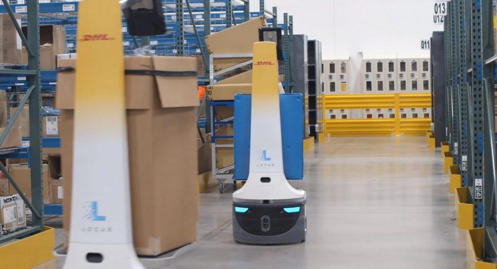 thumbnail for DHL Supply Chain investeert in APR's van Locus Robotics