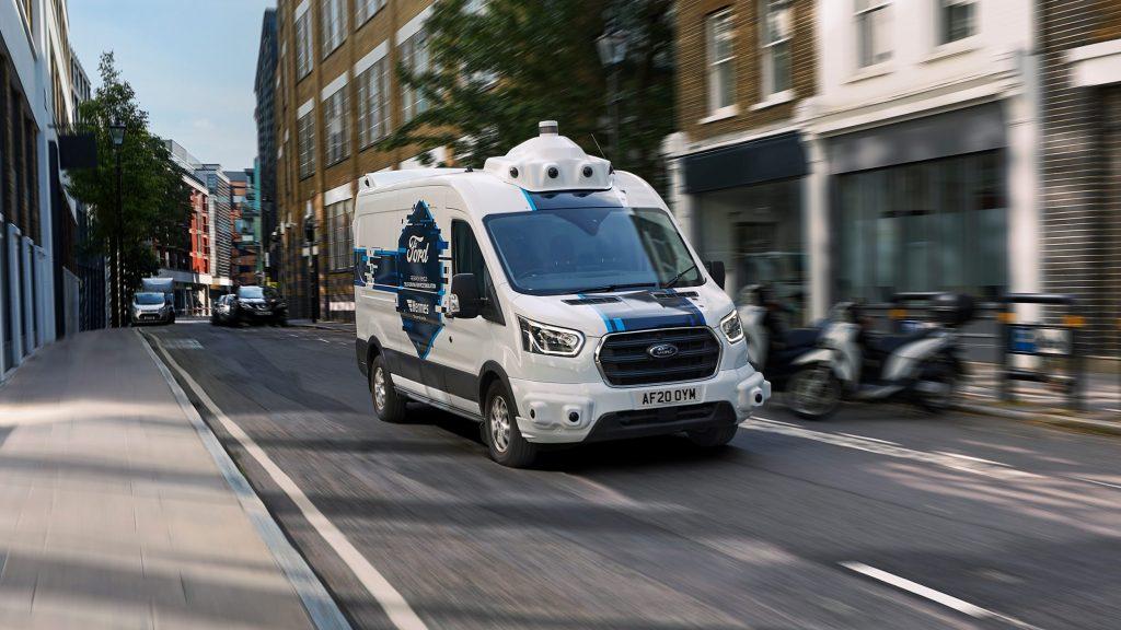 thumbnail for Ford en Hermes onderzoeken interactie met autonoom rijdende bestelwagens