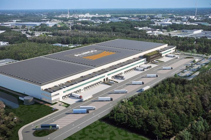 thumbnail for Alinso construit un complexe logistique de 60 000 m² à Tessenderlo