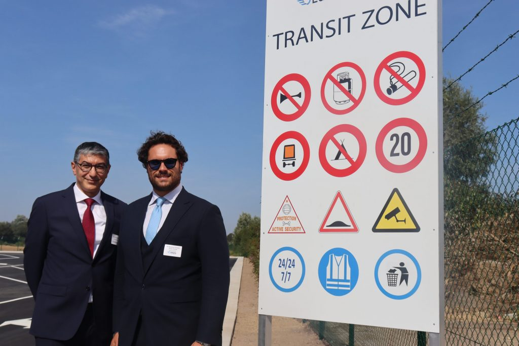 thumbnail for Euroterminal opent een transitzone voor Amazon