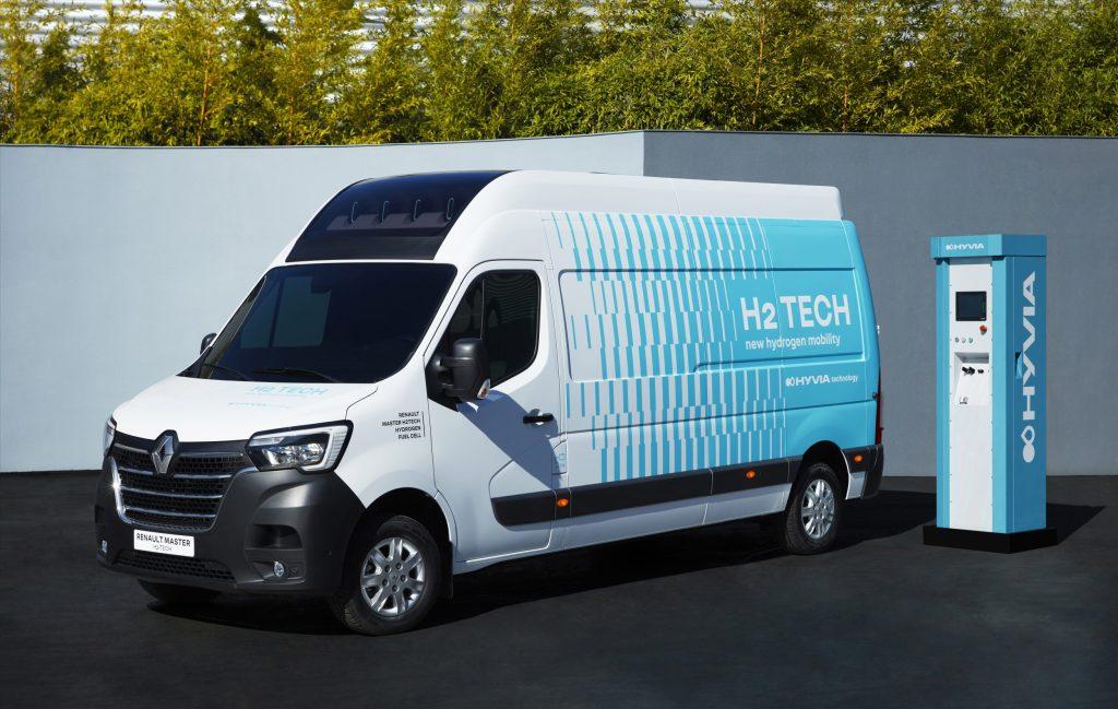 thumbnail for Renault/Hyvia lancera des utilitaires à hydrogène d'ici 2022