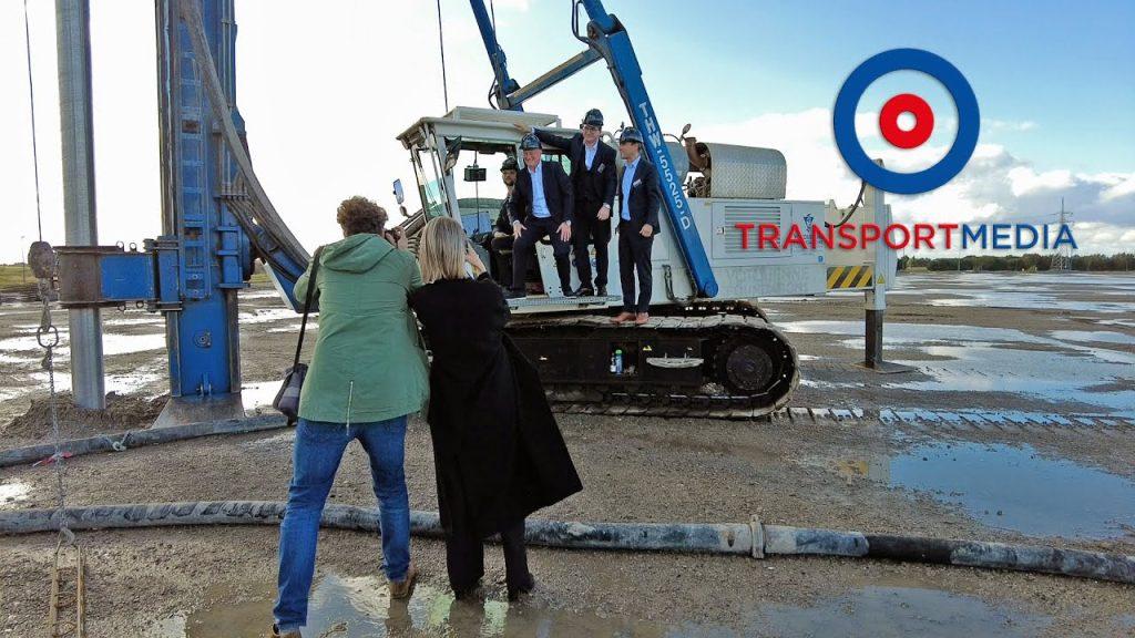thumbnail for Eutraco a posé la première pierre de son entrepôt à Gand