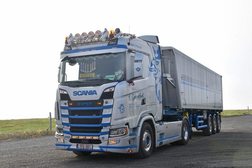 thumbnail for Transports Frédéric Gueuthal choisit un Scania 770 S V8