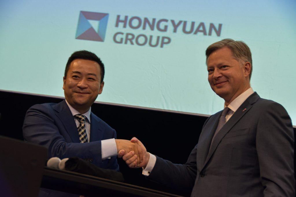 thumbnail for Brussels Airport wordt Europees hoofdkwartier van Hongyuan Group